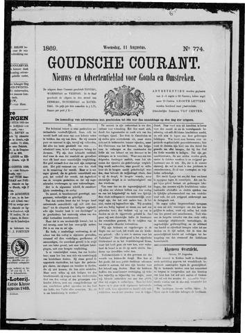 Goudsche Courant 1869-08-11