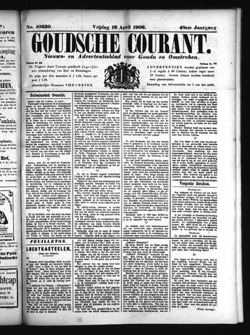 Goudsche Courant 1909-04-16