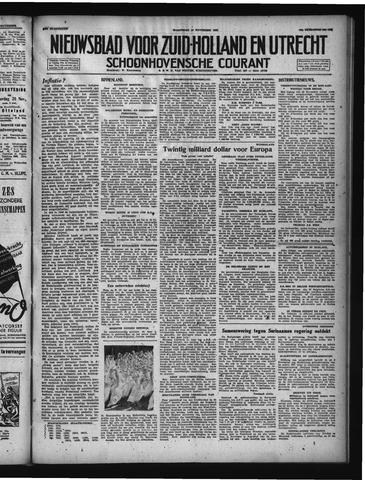 Schoonhovensche Courant 1947-11-12
