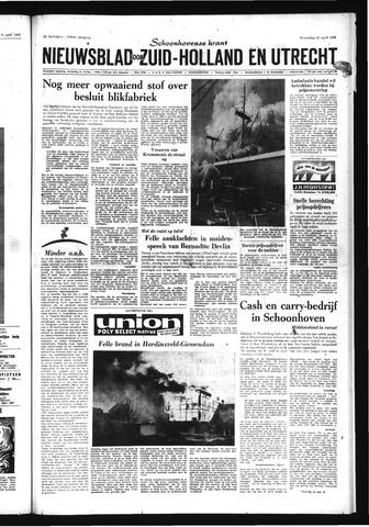 Schoonhovensche Courant 1969-04-23