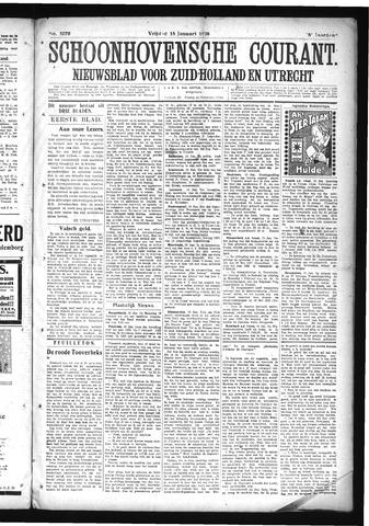 Schoonhovensche Courant 1926-01-15
