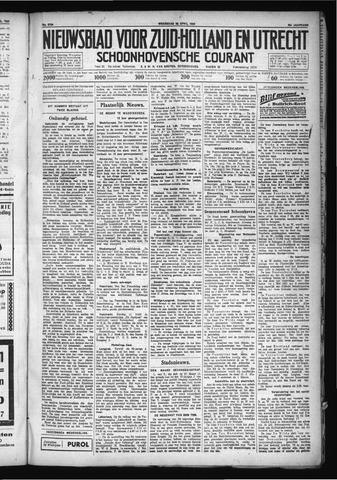 Schoonhovensche Courant 1930-04-23