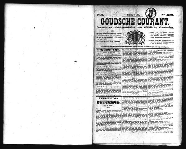 Goudsche Courant 1890-07-01