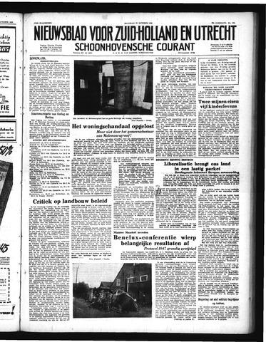 Schoonhovensche Courant 1950-10-23
