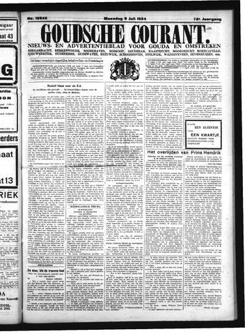 Goudsche Courant 1934-07-09