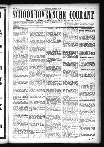 Schoonhovensche Courant 1923-06-25
