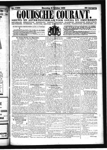 Goudsche Courant 1929-10-21