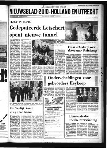 Schoonhovensche Courant 1977-04-25