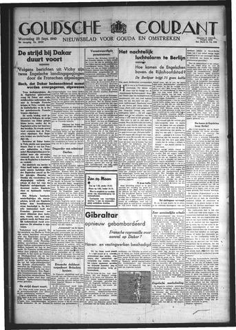 Goudsche Courant 1940-09-25