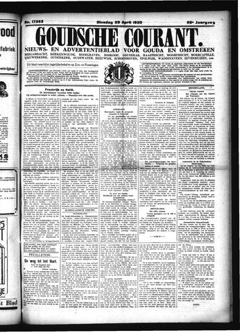 Goudsche Courant 1930-04-29
