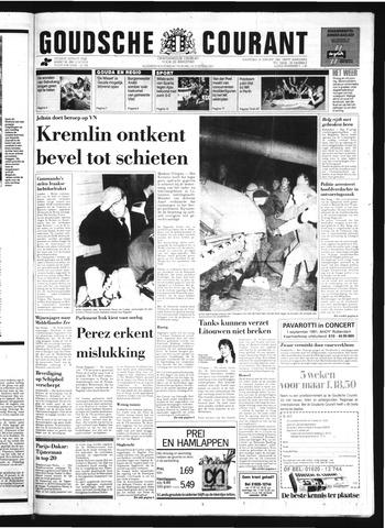 Goudsche Courant 1991-01-14