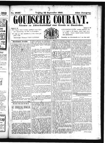 Goudsche Courant 1905-09-22