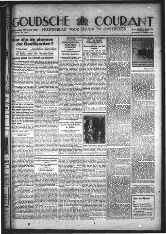 Goudsche Courant 1942-04-22