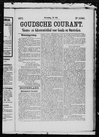 Goudsche Courant 1871-07-26