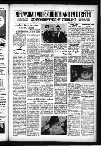 Schoonhovensche Courant 1955-10-12