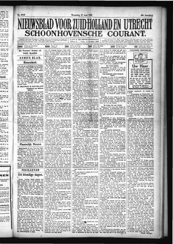 Schoonhovensche Courant 1928-06-27