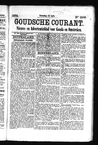 Goudsche Courant 1874-04-22