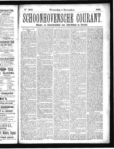 Schoonhovensche Courant 1895-12-04