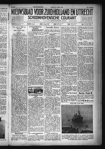 Schoonhovensche Courant 1933-01-13