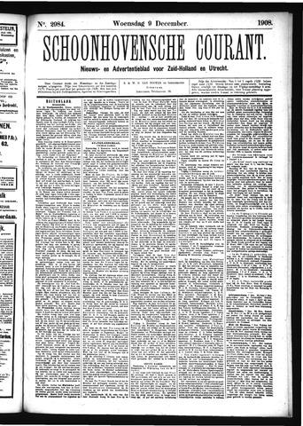 Schoonhovensche Courant 1908-12-09