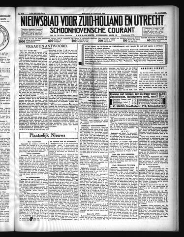 Schoonhovensche Courant 1935-08-21