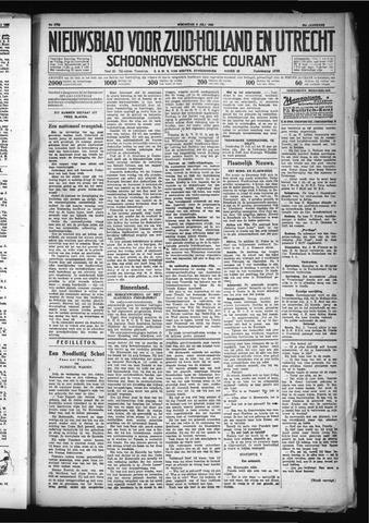 Schoonhovensche Courant 1930-07-09
