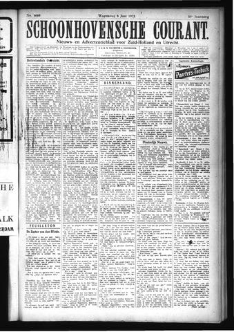 Schoonhovensche Courant 1923-06-06