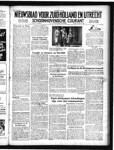 Schoonhovensche Courant 1950-05-03