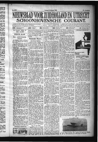 Schoonhovensche Courant 1929-02-15