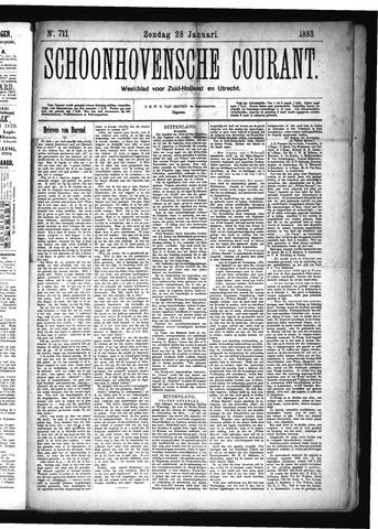 Schoonhovensche Courant 1883-01-28
