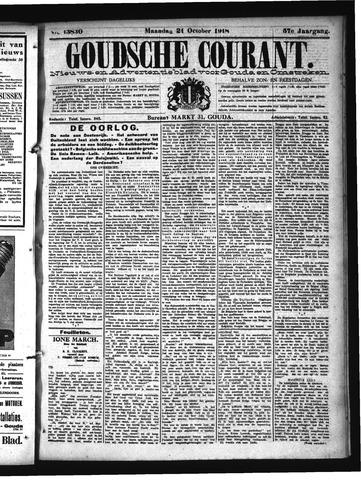 Goudsche Courant 1918-10-21