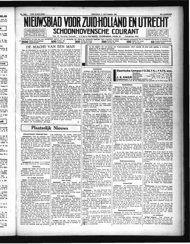 Schoonhovensche Courant 1935-09-11