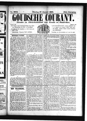 Goudsche Courant 1903-01-27