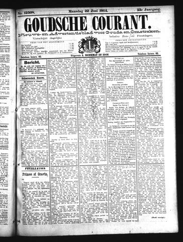 Goudsche Courant 1914-06-22