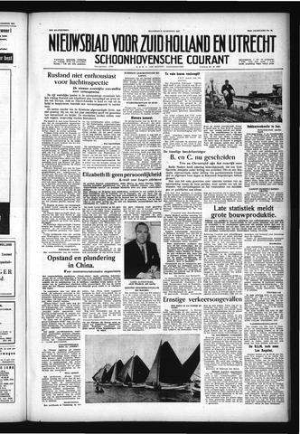 Schoonhovensche Courant 1957-08-05