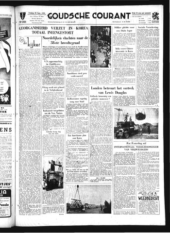 Goudsche Courant 1950-09-29