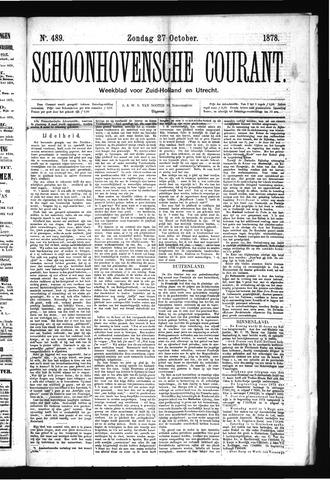 Schoonhovensche Courant 1878-10-27