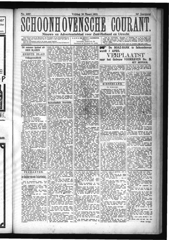 Schoonhovensche Courant 1922-03-24