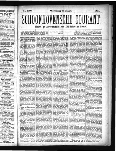 Schoonhovensche Courant 1895-03-20
