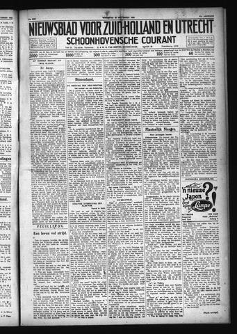 Schoonhovensche Courant 1929-09-25