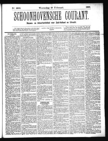 Schoonhovensche Courant 1906-02-28