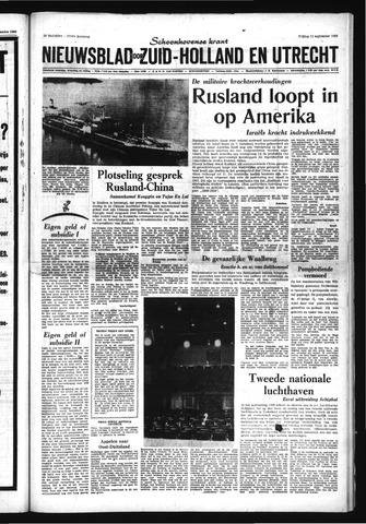 Schoonhovensche Courant 1969-09-12