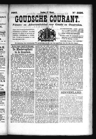 Goudsche Courant 1887-03-27