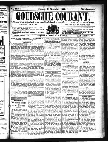 Goudsche Courant 1917-11-20