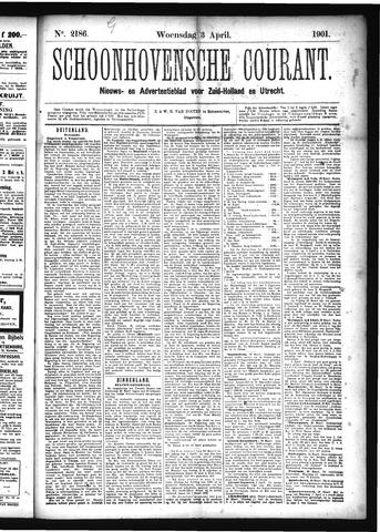 Schoonhovensche Courant 1901-04-03