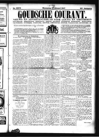 Goudsche Courant 1927-02-02