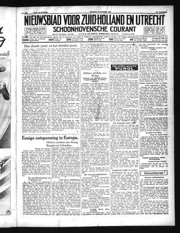 Schoonhovensche Courant 1938-09-26