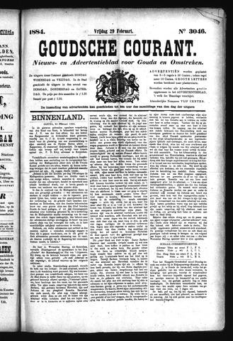 Goudsche Courant 1884-02-29