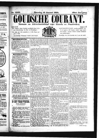 Goudsche Courant 1910-01-15