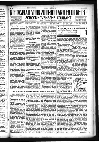 Schoonhovensche Courant 1933-12-27
